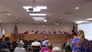 Belton ISD School Board Meeting 17 April 2017