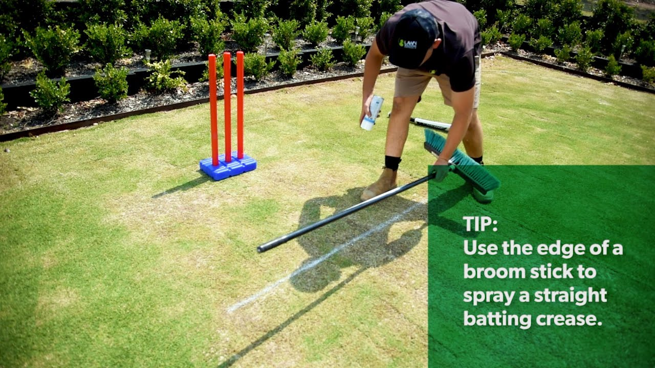 How To Make Your Own Backyard Cricket Pitch Youtube
