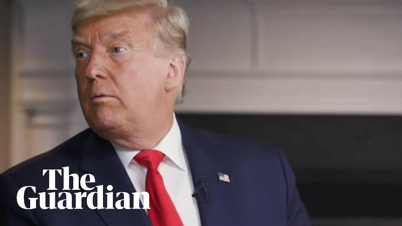 Watch the moment Trump walked out of his '60 Minutes' interview ...
