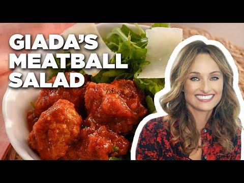 Meatball Salad With Giada De Laurentiis | Food Network