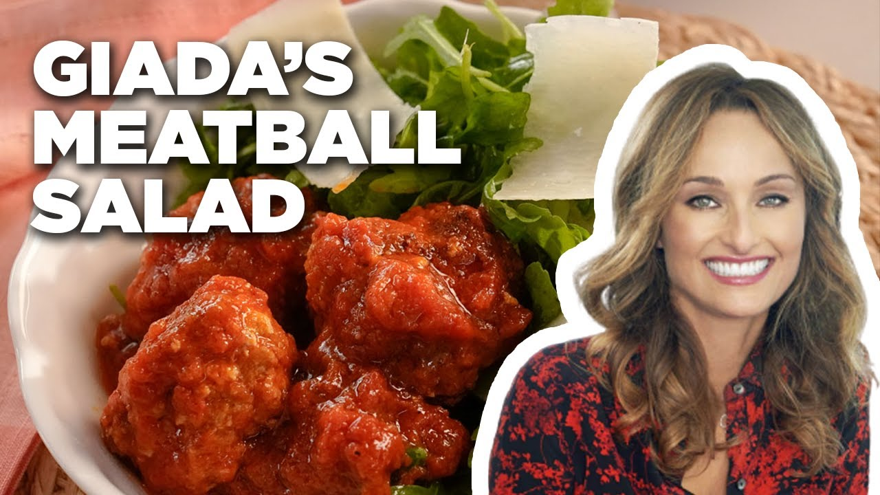 Meatball Salad with Giada De Laurentiis | Food Network
