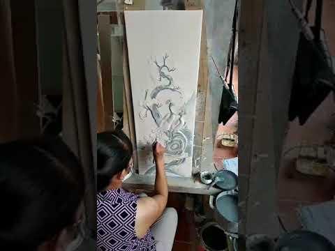 Cách vẽ tranh Gốm Sứ Tùng Cúc Trúc Mai Hiệp Hội Gốm Sứ
