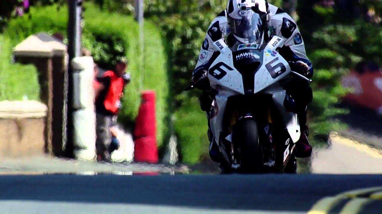 BEST IMAGE QUALITY ON BOARD TT Guy Martin V Michael Dunlop ISLE OF MAN 2014