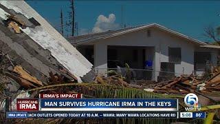 Man rides out Irma in Big Pine Key