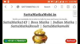 SATTAMATKA.MOBI SATTAMATKAMOBI.IN SATTAMATKA143.SATTAKING SATTA GAME
