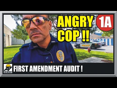 SHUTDOWN : POLICE INTIMIDATION FAIL - First Amendment Audit - Amagansett Press