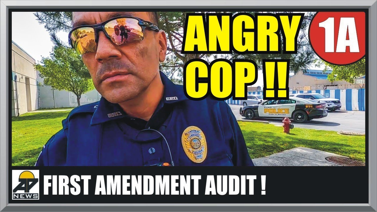 SHUTDOWN : POLICE INTIMIDATION FAIL - First Amendment Audit - Amagansett Press