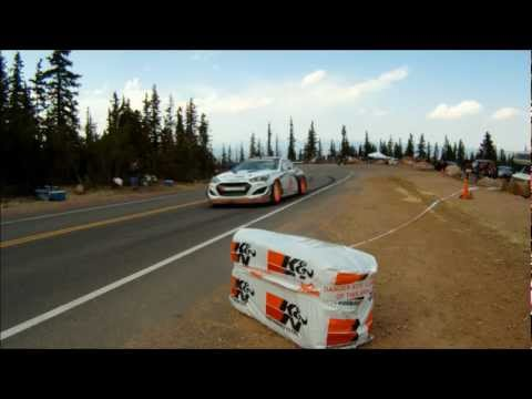 Pikes Peak 2012 Top 5 Car Finishers
