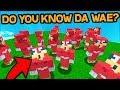 TURNING THE WHOLE SERVER INTO UGANDAN KNUCKLES! DO YOU KNOW DA WAE? (Minecraft Trolling)