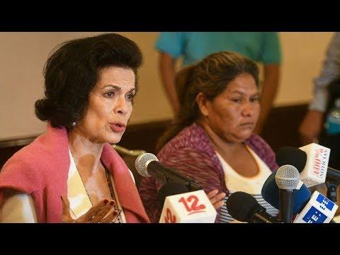 """Bianca Jagger: Ortega hace lo mismo que Somoza """"al poner en peligro la soberanía"""""""