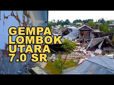 Mencekam !! Begini Kejadian Waktu Gempa Di Lombok Utara