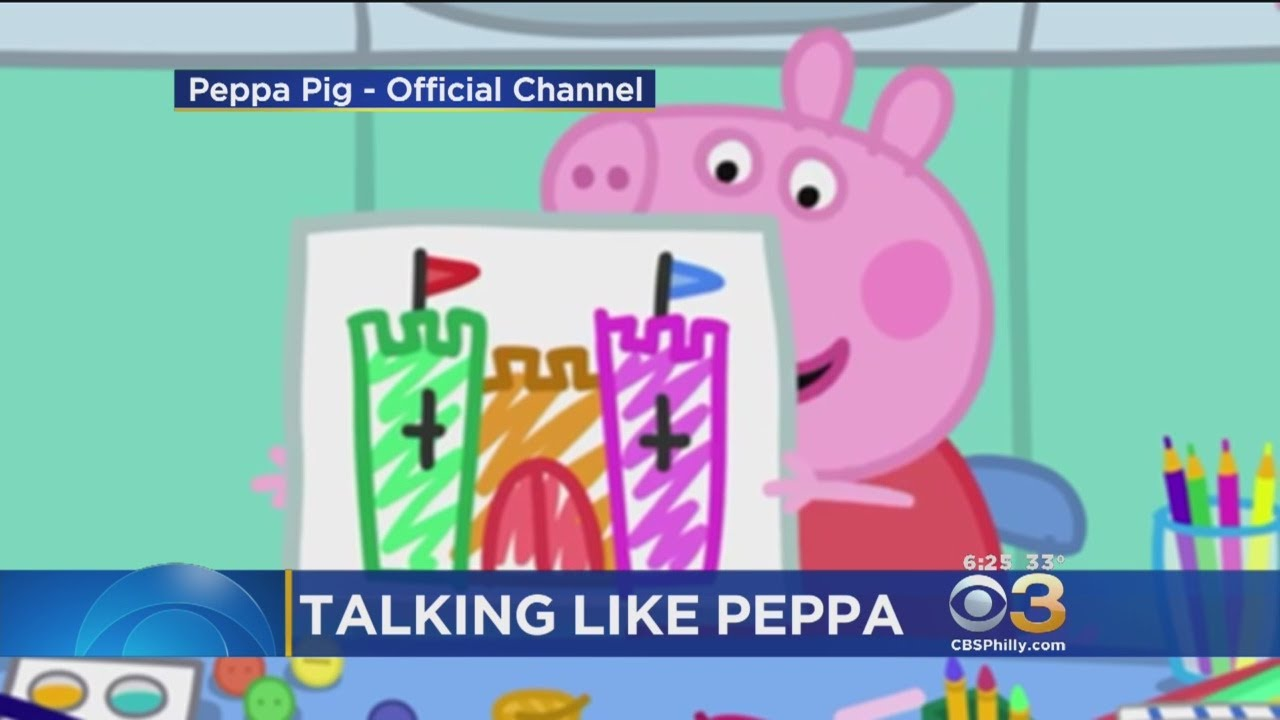 Parents Say Kids Are Starting To Speak In British Accent After Watching Peppa Pig Cartoon