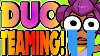 TEAMING in DUO SHOWDOWNS! - Brawl Stars thumbnail