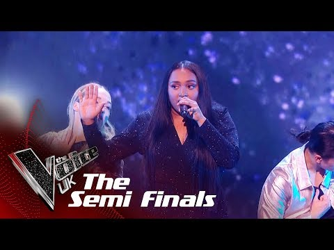 Gayatri Nair Performs 'Alive': The Semifinals | The Voice UK 2018