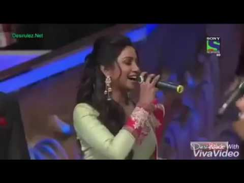 Indian Idol Junior 2013 #Shreya Ghoshal & Bappi Lahiri # Naino Main Sapna