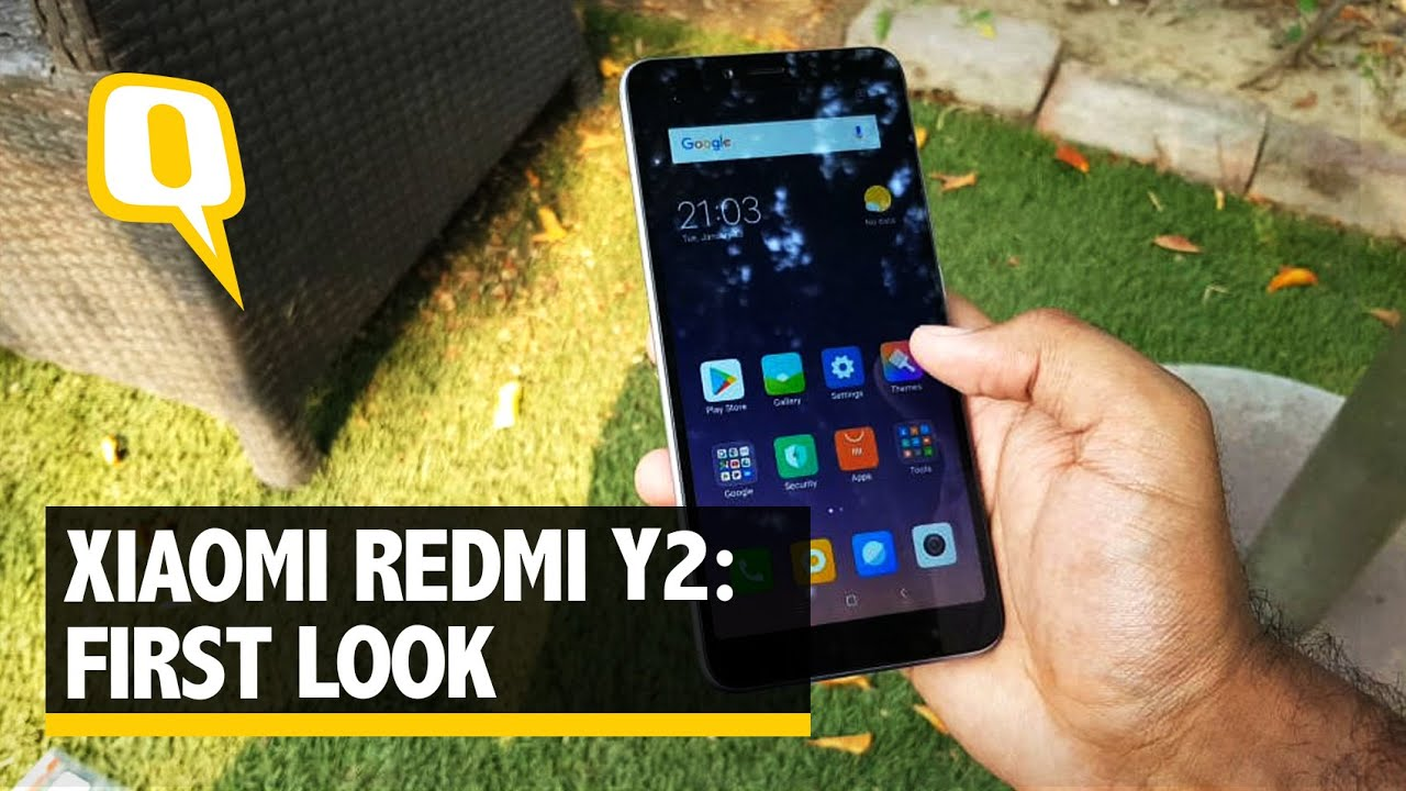 best authentic 7aa46 327c1 Xiaomi Redmi Y2 First Look: What's Special About this Phone?