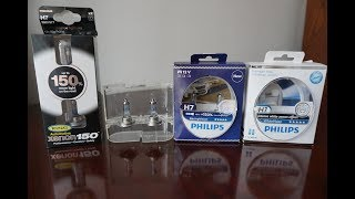 RING Xenon150 vs Philips X-tremeVision RacingVision WhiteVision