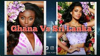 Miss Universe 2017 Ghana Vs Sri Lanka