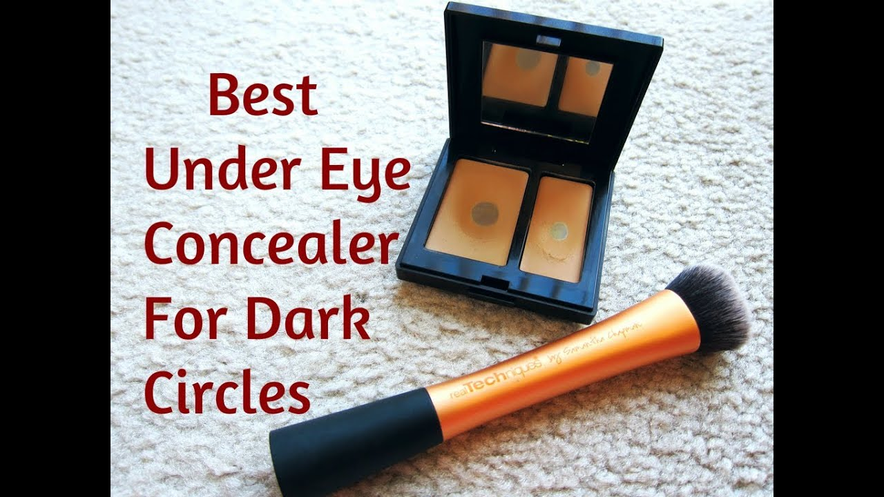 Best Under Eye Makeup Concealer For Dark Circles - YouTube