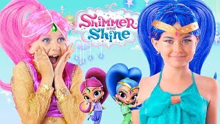 Shimmer And Shine Kids Makeup And Dress Up In Real Life - Coco Kids Club