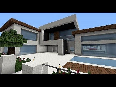 Ma y nowoczesny dom 1 minecraft youtube for Minecraft haus modern