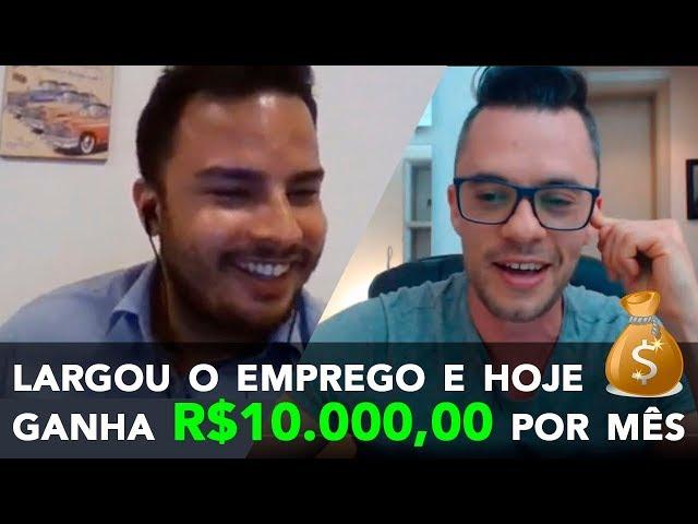 🔴 Ele abandonou um salário de R$ 2.000 e hoje fatura R$ 10.000 por mês CRIANDO SITES