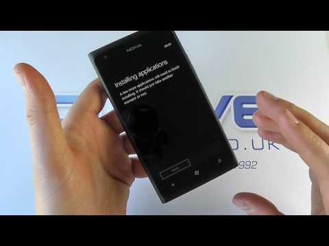 Nokia Lumia 900 Windows Phone Unboxing