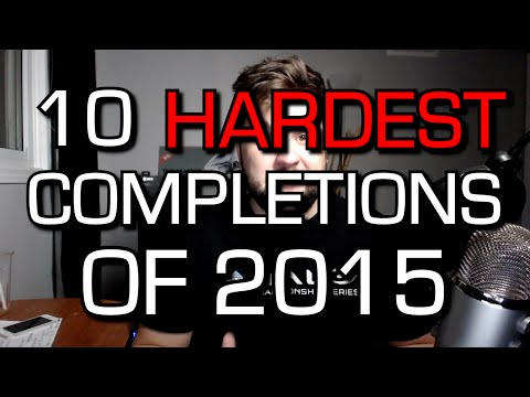 10 HARDEST Game Completions of 2015 on Xbox One! (Achievements/Trophies)