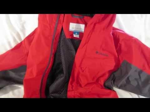 9e4557808 Columbia Watertight Packable Rain Jacket review - YouTube
