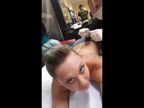 #CherokeeTheModel Gets Morphed into a Peacock with Corset & Play Piercings Reaction thumbnail