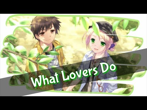 Nightcore - What Lovers Do [Maroon 5 ft. SZA] [Mike Tompkins Cover] (Lyrics)