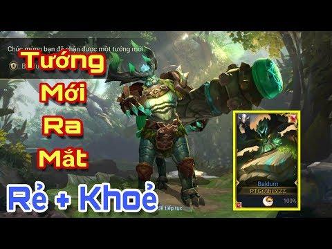 [Gcaothu] Đỡ đòn kĩ năng nhốt Kingkong - Tướng mới Baldum chính thức ra mắt