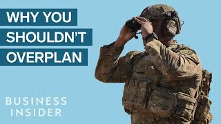 Navy SEALs Explain Why Overplanning Can Be Dangerous