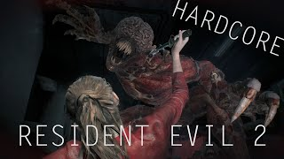 RESIDENT EVIL 2 - CLAIRE || HARDCORE #5