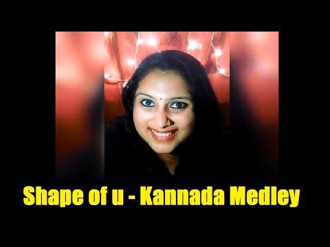 Shape of You Ft. Kannada Medley | Geetha Bharathi Bhat | Mashup