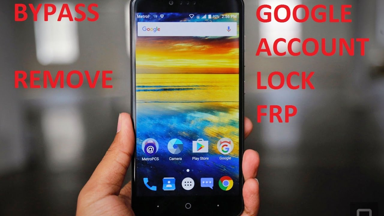 This article zte zmax pro google lock get