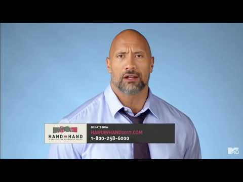 "Dwayne Johnson (The Rock) - ""Hand In Hand"" A Benefit For Hurricane Relief 
