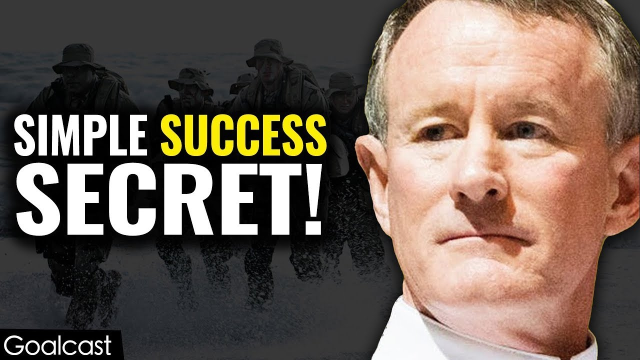If You Want To Change The World Start Off By Making Your Bed William Mcraven Us Navy Admiral