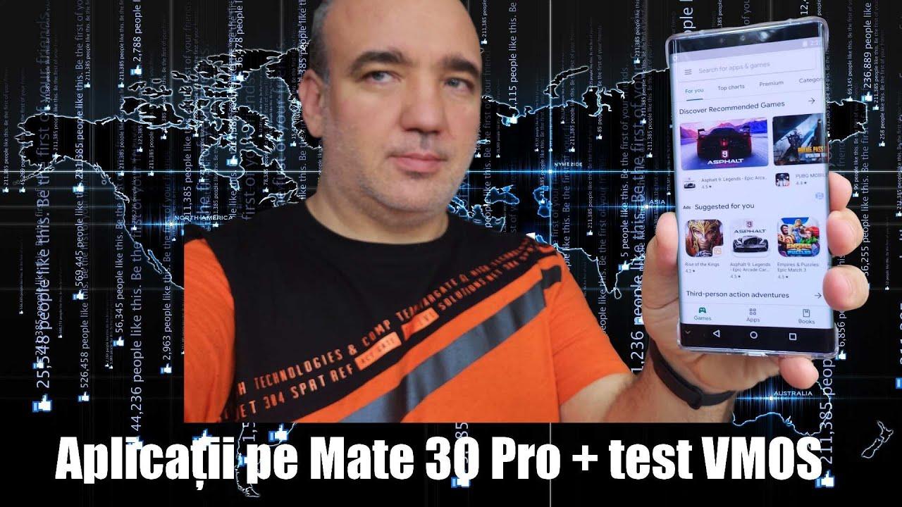 Aplicații pe Mate 30 Pro: prin APK sau VMOS