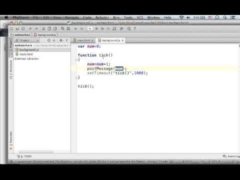 Terminating HTML5 WebWorker