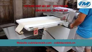 Máy cán bột làm bánh hai chiều, máy cán bột làm bánh bao, máy cán bột  - 0812814809