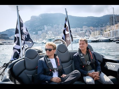 A day in Monaco with Nico Rosberg and HUGO BOSS