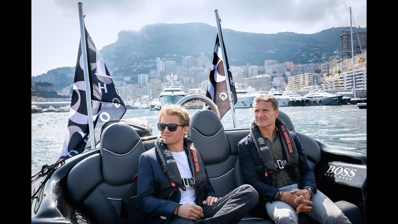 A day in Monaco with Nico Rosberg and HUGO BOSS - YouTube