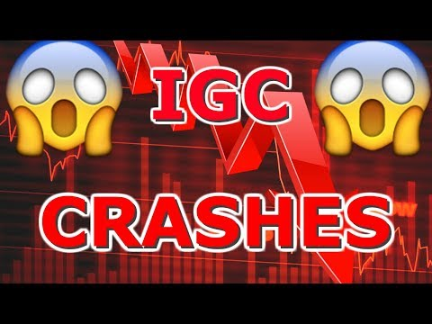 IGC STOCK CRASHES 📈 !? Why did India Globalization Capital - is IGC a scam/news ? - buy or sell 🤔