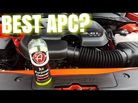 Adam's Polishes All Purpose Cleaner | How to clean engine compartment