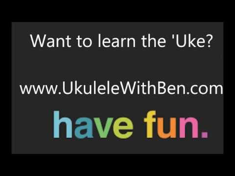 'Ukulele' Ben plays 'Enjoy Yourself'