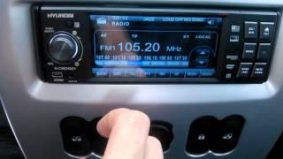 hyundai h cmd4021 radio смотреть