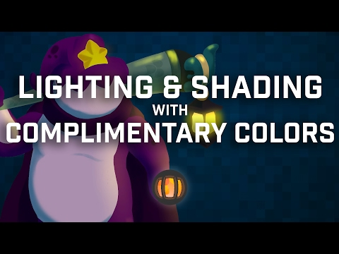 Lighting & Shading with Complimentary Colors