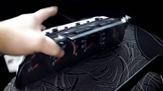 видео панель приборов ваз 2123