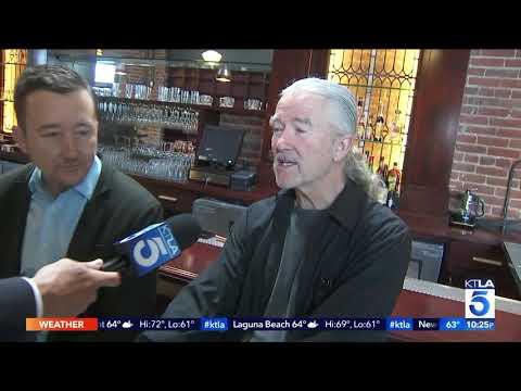 KTLA gets a sneak peak of Patrick Duffy's Family Bar